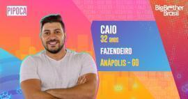 Caio é participante do BBB21; conheça!