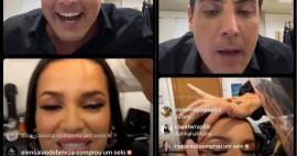 'Ganhei 100 mil seguidores', vibra Bruno de Luca após live com Juliette